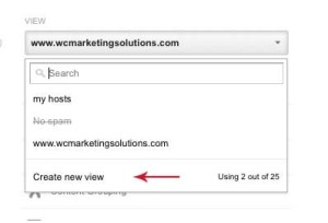 Google Analytics filter step 2 - Wise Choice Marketing Solutions