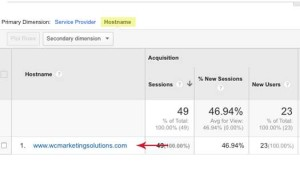 Google Analytics Filter Step 8 - Wise Choice Marketing Solutions