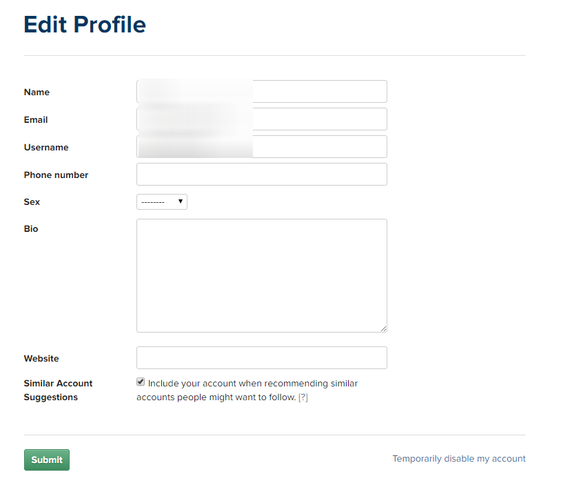 instagram business account sign up step 3a